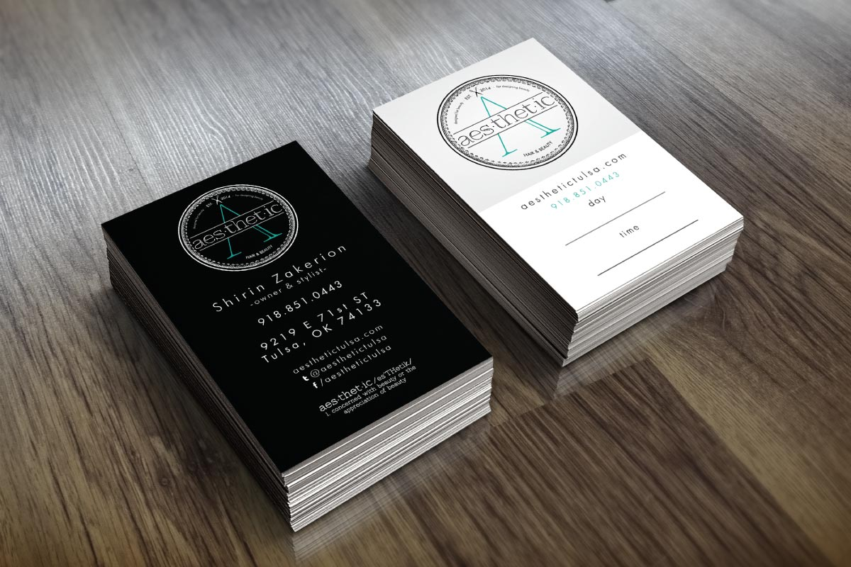 Branding Project – aes.thet.ic hair & beauty