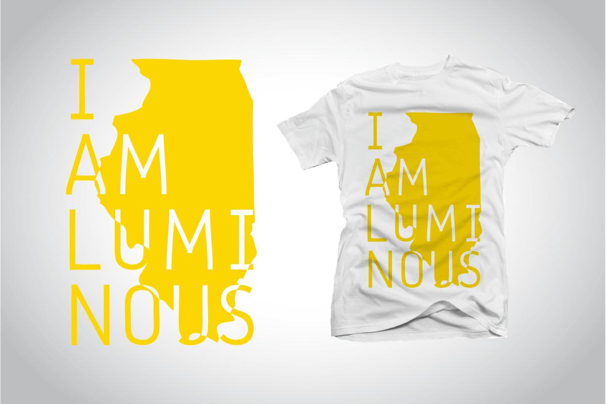 Non-Profit Shirt Design – I AM Luminous Illinois T-Shirt