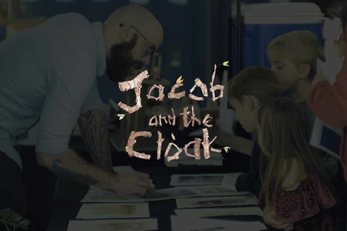 Jacob and The Cloak by Scott Taylor